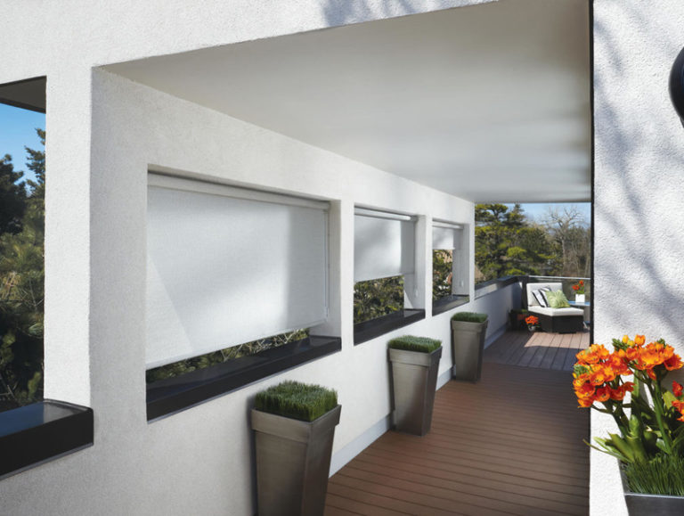 Patio and Sunroom Screen Shades
