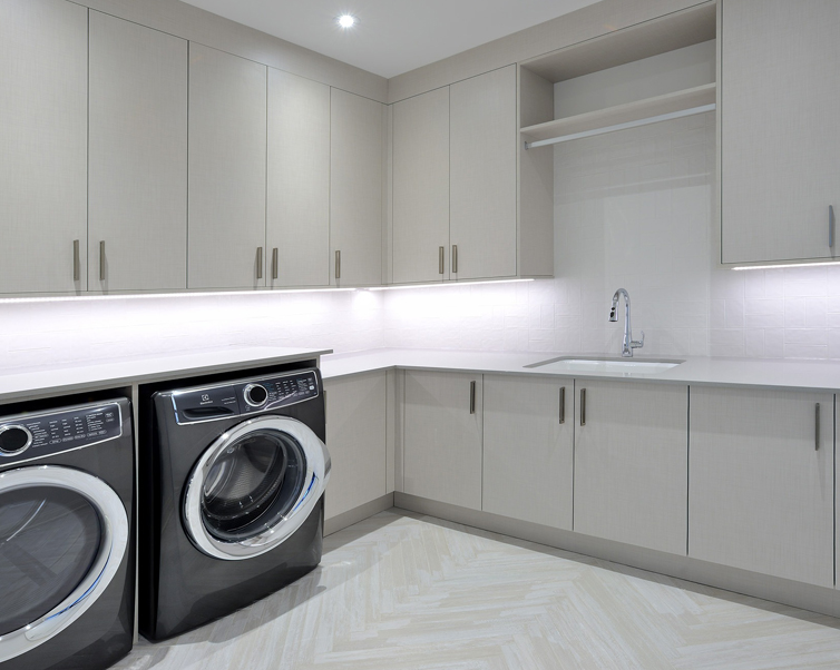 laundry rooms and storage